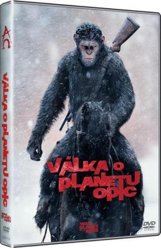 Válka o planetu opic [DVD]